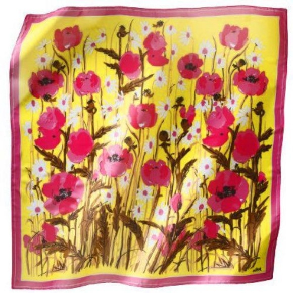 511a557c530a1 Vera Neumann for Target Accessories | Poppies Large Scarf | Poshmark